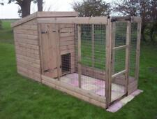 Dog Kennel And Run.  Open Top Run    -    From £295