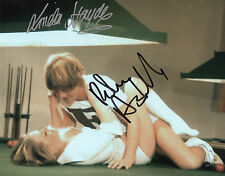 CONFESSIONS OF A WINDOW CLEANER signed 10x8 - LINDA HAYDEN & ROBIN ASKWITH