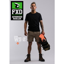 FXD Short Lightweight Work Shorts 87 Khaki
