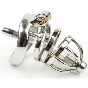 Male Chastity Device Stainless steel Chastity Belt Lock A275-1