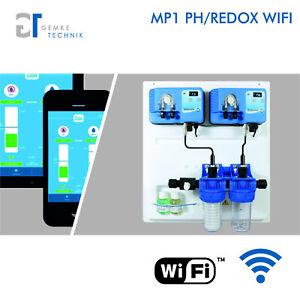 MP1 WIFI/WLAN - APP Control CHLOR/REDOX-PH POOL Automatische Dosieranlage Bypass