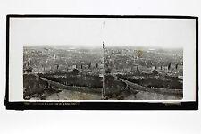 Panorama de Lyon Ferrier, Soulier, Lévy Plaque stereo ca 1860