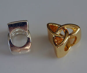 Charms for European Bracelets  Gold/Silver Plated