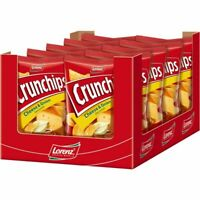 Lorenz Crunchips Cheese & Onion Chips, 10x175 g Bt.