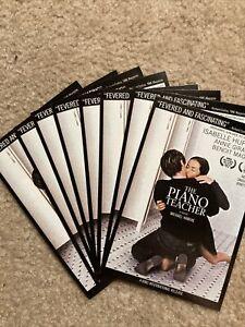 Lot of 8 THE PIANO TEACHER movie Lobby Cards RARE PROMO Haneke Isabelle Huppert