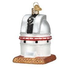 """Observatory"" (20107)X Old World Christmas Glass Ornament w/OWC Box"