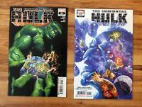 Comic Book lot: Immortal Hulk #24 25: Marvel: Ross Ewing/Alex Ross