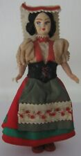 Vintage Doll  in an Italian (Palermo) suit. 1950s.   Free shipping.