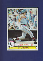 Milt May 1979 TOPPS Baseball #316 (NM) Detroit Tigers