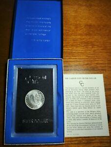 1883 CC  GSA Morgan Silver Dollar BU+! W/ Box and Cert. Fast, Free Ship! #C3