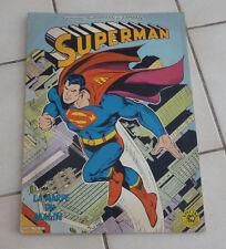 SAGEDITION  Superman  La harpe du malin    format géant ! sep9a