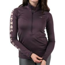 Under Armour Womens Half Zip Sports Jacket Ladies Fitted Gym Yoga Running Top