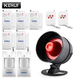 KERUI New 110dB Wireless Anti-theft Loudspeaker Security Home Alarm System