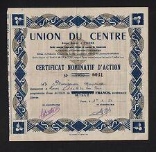 DECO => UNION DU CENTRE (TOURS) (A)