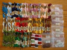 Lot of 109 DMC Embroidery Floss Thread Skein Card