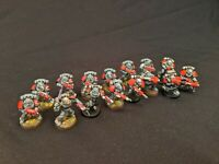 WARHAMMER 40K SPACE MARINES - IRON CRUSADERS - TACTICAL SQUAD X15 - PRO PAINTED