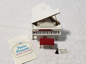 Petite Princess FurnitureRoyal Grand Piano miniature doll furniture & metronome