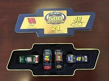 "2008 Daytona 500 ""50 Years"" Commemorative Set 1/64 Action Diecasts- Dale Jr."