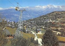 Switzerland Vercorin Valais Cable Car General view Mountains
