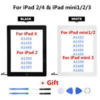 LCD Touch Screen Digitizer Replacement Full Assembly For iPad 2 4 Mini 1 2 3 OF