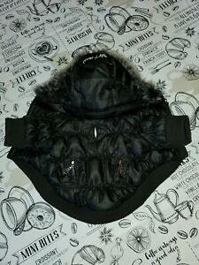 PETLIFE  Puffer hooded Jacket Size XS Black with thinsulate