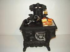 Crescent Cast iron Toy Stove w/Accessories