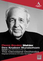 Pierre Boulez: Mahler (Cleveland Orchestra) DVD (2011) Pierre Boulez cert E
