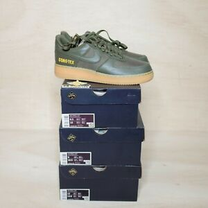 Nike Air Force One Low Gore-Tex Medium Olive Size 9, DS BRAND NEW