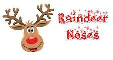 Raindeer Noses christmas Xmas Label Sticker Seal