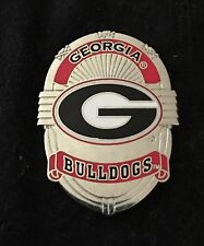 UNIVERSITY OF GEORGIA BADGE PIN - NCAA FREE SHIPPING BIN USA ONLY NO OFFERS