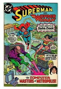 Superman & Wonder Woman Computer Masters Radio Shack Comic Book [DC, 1982]
