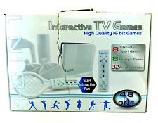 Interactive TV Games High Quality 16 bit 48 Jeux 32 Arcade 8 Olympics 8 Sports