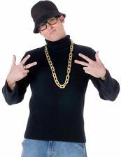 Old School Rapper Costume Kit Run DMC Adult Hip Hop 80s 90's 90s Rap Hammer
