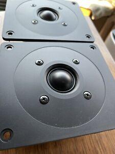 """OEM Pair ADVENT Maestro Tweeters HF 85C00019 ~ 5.1 / 5.6 DCR Speakers 5"""" x 4.5"""""""