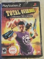 Total Overdose: A Gunslinger's Tale in Mexico PlayStation 2 3 PS2 PS3 NEW Sealed
