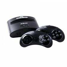Sega Genesis Classic Game Console w/ 80 Built-in Games & 2 Wireless Controllers