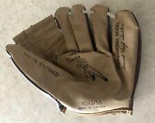 VINTAGE Straco Pro Model Special Vinyl Leather, Nylon Stitched Baseball Glove