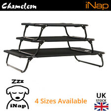 Premium Dog Pet Elevated Bed Raised Foldable - 2 Year Warranty - Sizes S S+ M L