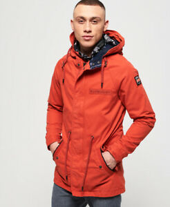 Superdry Mens Aviator Rookie Parka Jacket