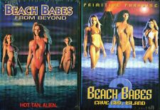 BEACH BABES FROM BEYOND 1 & 2:  From Beyond + Cave Girl Island - NEW 2 DVD