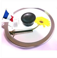 COUVERCLE INOX MINI CHANTEGRET INOX diamètre 14 cm maximum