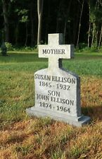 MOTHER / SON Halloween Tombstone Yard Prop Zombie Walking Dead Haunted House