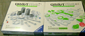 Gravitrax Expansion Trax AND Tunnels Interactive Track System - Ravensburger