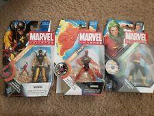 "Marvel Universe 3.75"" figure lot Yellow Jacket Human Torch Doc Samson Hasbro 616"