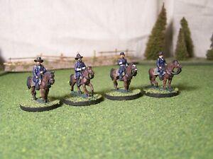 Union Senior Generals, ACW, 15mm