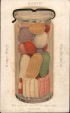 1916 Chicago,IL Bunte Confections-Put up in .10 and .25 jars Cook County Vintage