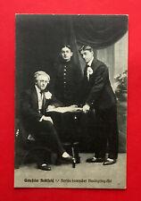 AK Zirkus Variete 1911 Gebrüder Hohlfeld seriös komischer Handspring Akt ( 53181