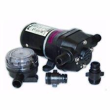 Flojet General Purpose Pump Quad II 12 Volt 3.3 GPM 04105501A Marine MD