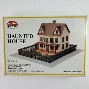 Model Power Haunted House N SCALE Train Model Kit #1555 New Sealed