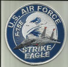 U.S.AIRFORCE F-15E STRIKE EAGLE AIRCRAFT PATCH USAF PILOT CREW AVIATION USA